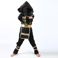 Wholesale Ninja Party - Boys Girls Clothes Sets Legoo Ninjago Batman Cosplay Costumes Children Clothing Set Halloween Christmas Party Clothes Ninja Suit