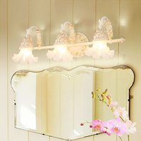 ingrosso bagno ha portato luci di vanità-La lampada di vanità della lampada dello specchio ha condotto la lampada da parete impermeabile della stanza da bagno della lampada da parete della lampada da parete della luce della stanza da bagno della luce anteriore del trucco della camera da letto di trucco