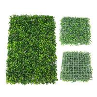 gefälschte grasmatten großhandel-Künstliche Gras Matte Teppich Garten Balkon Dekoration Haus Ornamente Tank Gefälschte Gras Rasen Garten Gras Wand