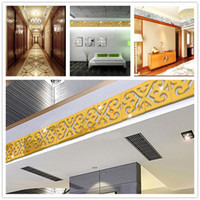 10pcs Acrylic Mirror Effect Wall Sticker Home Decoration 10cm Gold//Silver