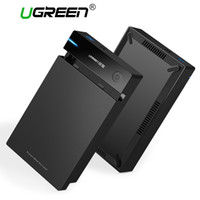Wholesale plastic box enclosure case online - Ugreen inch HDD Case SSD Adapter SATA to USB for Samsung Hard Disk Drive Box TB TB External Storage HDD Enclosure