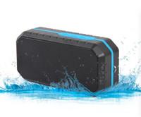 ladung drahtloser bluetooth lautsprecher großhandel-IP65 im Freien wasserdichte Bluetooth-Sprecher für das Wandern von drahtloser mini tragbarer Subwoofer-Unterstützungs-TF-Karte mit Haken-Kleinkasten bessere Gebühr 3