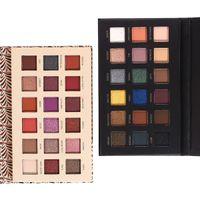 neueste make-up großhandel-HANDAIYAN Marke neueste 18 Farbe Lidschatten-Palette Makeup Cosmetics kostenloser Versand
