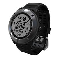 Wholesale german brand watches - Brand UW80C Stainless Steel Smart Bluetooth GPS Watch Professional Outdoor Sport Watch IP68 Waterproof Calls Message Reminder.