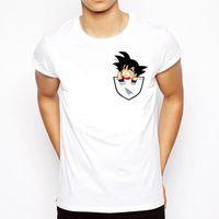 t-shirt super achat en gros de-Dragon Ball T Shirt Hommes D'été Dragon Ball Z Super Fils Goku Slim Fit Cosplay 3D T-Shirts Anime Vegeta DragonBall Tshirt Homme