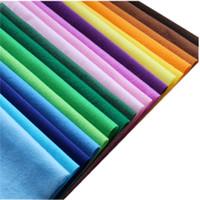 tecido de veludo patchwork venda por atacado-Cores sólidas Poliéster Veloc Bordado Veludo Veludo Malha de Lã para Patchwork De Costura De Pelúcia Sentiu Pano De Tecido DIY Material de Brinquedo