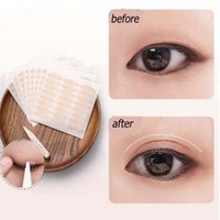 Wholesale eyelid makeup tools for sale - 240pcs Eyelid Tape Sticker Makeup Clear Lace mesh Big eyes Invisible double fold eyelid shadow stickerfold eyelid tape beauty tools