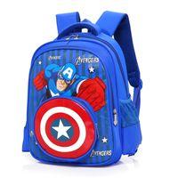 Wholesale fila for sale - The Avengers Infinite War kids backpacks school  bag Marvel Captain America 1f262f819c937