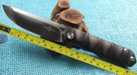 bilyalı rulmanlı cnc toptan satış-Ücretsiz Kargo Yeni TwoSun Bıçaklar Açık CNC Siyah G10 D2 Rulman Hızlı Açık Cep Katlanır Bıçak BlackMamb TS09