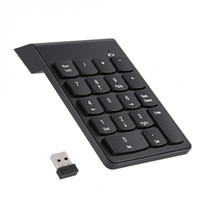 Wholesale usb keypad for laptop for sale - Group buy 2 G USB Numeric Keypad Wireless Number Pad Keys Mini Digital Keyboard for Laptop PC Notebook Desktop XXM