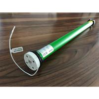 rideau motorisé achat en gros de-Moteur de tube de batterie sans fil DOOYA DM25LE Convient pour stores à enrouleur Zebra Blinds Dia rideau. Tube en aluminium de 38mm