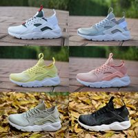 Wholesale lightweight running shoes for men resale online - 2018 New Design Air Huarache IV Running Shoes For Women Men Lightweight Huaraches Sneakers Athletic Sports Outdoor Huarache Shoes
