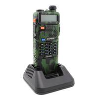 vhf radio uv 5r al por mayor-Baofeng UV-5R 3800mAh Batería de doble banda Radio bidireccional 136-174MHz VHF 400-520MHz UHF Transceptor de mano walkie talkies