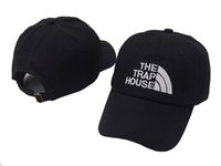 Wholesale snapback army casual online - The Trap House hat peaked baseball caps Summer fashion snapback hip hop outdoor sports strapback cotton sun hats for men women