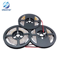 Wholesale 2835 led strip - Led Strip 5M 300Leds No-waterproof RGB Light 2835 DC12V 60Leds M Fiexble Light Led Ribbon Tape Home Decoration Lamp