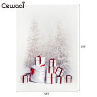 ingrosso lampadari a cristallo del palazzo-vendita 5x7FT inverno neve regalo Photo Studio fotografia sfondo prodotto fotografia Studio sfondo Vintage Bar