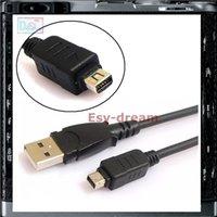 ingrosso cavo 12pin-CB-USB5 CB-USB6 Cavo USB 12Pin Cavo dati USB per Olympus SZ-10 SZ-11 SZ-14 SZ-20 SZ-31MR OM-D E-M5 TG-1 Tough 3000 Fotocamera