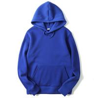 Wholesale black skate hoodie for sale - 2018 High Quality New Pink Black Grey Red Hoodies Hip Hop Street Sweatshirt Skate Male Female Pullover Hoodie Men Hoodie M XXL High Quality