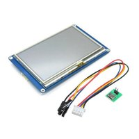 Wholesale arduino lcd module resale online - 4 Inch HMI Intelligent Smart USART UART Serial Touch TFT LCD Module Display Panel For Raspberry Pi A B Arduino Kits