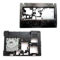 teclado genuino al por mayor-Genuine NUEVA Funda Superior del Ordenador Portátil para Lenovo G480 G485 Palmrest Teclado Cubierta Inferior de la Base del Shell 31038445 con HDMI