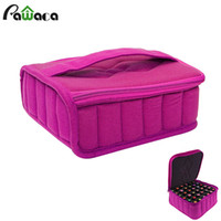 ingrosso organizzatori di scatole-30-Bottle Essential Oil Carrying Holder Case Pack per Essential Oil Perfume Portable Storage Box Organizzatore di viaggio