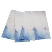papel de tinta china al por mayor-10 Piezas / Fiesta Vintage Estilo Chino Vintage Craft Paper Envelope 272 Ink