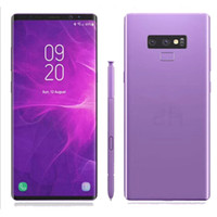 Wholesale android quad core mini phone for sale - Group buy Fingerprint Goophone Note9 MTK6580 G RAM G ROM quot Andriod MP Camera mAh Battery G WCDMA Unlocked Phone
