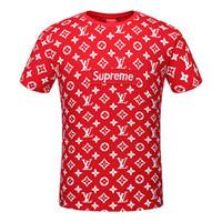 Wholesale Mens Modal Shirts - New Luxury Brand G&G embroidery t shirts for men Italy Fashion poloshirt shirt men High street Snake Little Bee Tiger print mens t-shirt