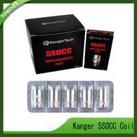 tanques kangertech v2 al por mayor-Kanger SSOCC Bobinas Atomizador 0.5 / 1.2 / 1.5 / 0.15 ohm Para Kangertech subox min Kit Subtank Mini V2 tank 0266054-03