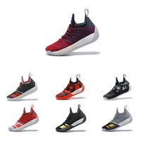 Wholesale james shoes white black - New high quality Harden Vol 2 Basketball Shoes Men Hardening Sports Light James Green Shoes Zapatillas Deportivas Homme Athletic Sne