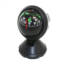 Wholesale LC550A Car Guide Ball Car Compass Multiple Use Compass Decorative Ornaments Gift Small Size Black Color