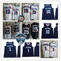 Wholesale championship basketball - NCAA Villanova Wildcats 2018 Championship College Basketball Jersey Mikal Bridges Jalen Brunson Donte DiVincenzo Villanova Wildcats Jerseys