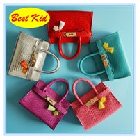 Wholesale pink bags for little girl resale online - BestKid DHL Twinkle Handbags for Baby girls Childrens fashion Leather Totes Little baby Kid bags Toddler star Purse bag BK030