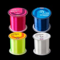 Wholesale sinking lures online - Super Strong Pull Fishing Line m Nylon Raw Silk Wear Resisting Not Easy To Age Lure Monofilament Angling Lines yk WW