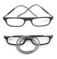 anteojos flexibles marcos hombres al por mayor-LH232 Marco de gafas de lectura óptica para hombres y mujeres Gafas de lectura de borde completo TR-90 flexible Gafas graduadas