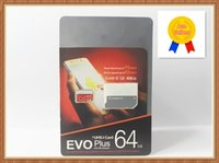 Wholesale uhs memory cards - Hot Products EVO PLUS Microsdxc 32GB 64GB 128GB 256GB Uhs-I Card Miniature 95MB TF Memory Card SD Class 10 with SD Adapter Blister Pack