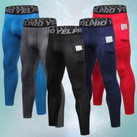 Wholesale mallas running for sale - Group buy Men s Running Tights Men Fitness Basketball Mayas Deportivas Hombre Compression Pants Mallas Hombre Gym Sports Leggings