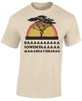 lion king t shirt 2018 - Baasowenya Lion King Song Mens Funny Parody T-Shirt Funny free shipping Unisex Casual tee gift
