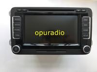 Wholesale vw car navigation dvd resale online - Free DHL Original RNS510 navigation radio CD C with SSD for Volkswage VW RNS510 car DVD GPS Navigation DVD player
