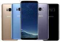 octa telefone großhandel-Ursprüngliches Samsung Galaxy S8 G955U G955F Octa Core 64GB 12MP 6,2