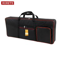 Wholesale waterproof keyboard case - RORETE Thickened nylon key keyboard instrument keyboard bag thickened waterproof electronic piano cover case for electronic