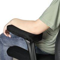 almohada de espuma de memoria del hogar al por mayor-Soft Chair apoyabrazos almohadillas de espuma de memoria antideslizante codo soporte almohada función multi reduce las almohadas de estrés para el hogar 13 5xm ZB
