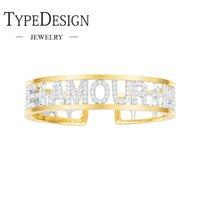 бриллиантовый браслет широкий оптовых-Тип ювелирных изделий серебряная вставка алмазное сверло AMORE AMOUR любовь широкий регулируемый размер браслет для женщин