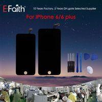 pantalla táctil de 5,5 pulgadas al por mayor-Venta caliente LCD para iPhone 6 pantalla LCD con pantalla táctil de 5,5 pulgadas para iPhone 6 Plus Asamblea digitalizador envío gratuito de DHL
