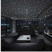 Wholesale decor vinilos for sale - Group buy Hot Sales Glow In The Dark Star Wall Stickers Round Dot Luminous Kids Room Decor Vinilos Decorativos Bedroom Decoration