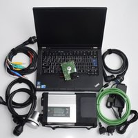 Wholesale das xentry laptop for sale - MB Star C5 SD Connect C5 with newest xentry epc das wis vediamo DTS expert mode with T410 I7 Laptop