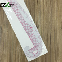 Wholesale sewing ruler plastic resale online - Plastic French Curve Metric Sewing Clothes Ruler Measure For Dressmaking Tailor Grading Curve Rule Pattern Making ZH01498