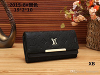 Wholesale korean dress style male online - 2018 Male luxury wallet Casual Short designer Card holder pocket Fashion Purse wallets for men wallets purse with tags