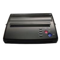 Wholesale tattoo stencil transfer paper machine - Maquiagem Tattoo Copy Machine lowest price A4 Transfer Paper black Tattoo copier thermal stencil copy Transfer Machine