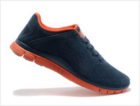 Wholesale lawn floor lights - Newest Free 4.0 Sports Shoes Fur Casual Sneakers Running Light Boosts Trainers Black White Blue Orange Grey Green Original Boxed